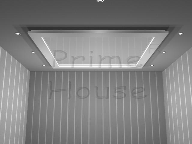 Форма 5_2 (вставка натяжного потолка, глянцевый, декоративный плинтус)