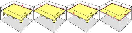 Технология монтажа бесшовных потолков
